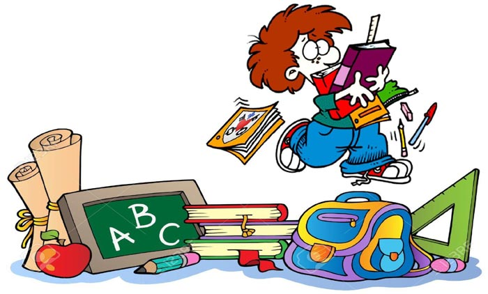 fournitures scolaires clipart 8 clipart station