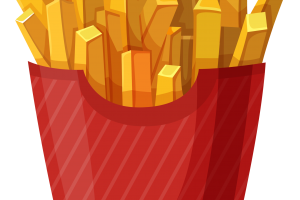 french fries clipart 1