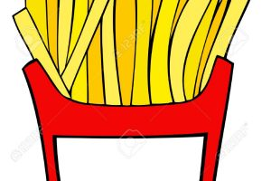 french fries clipart 2