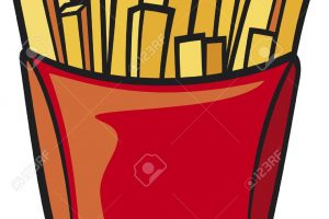 french fries clipart 3