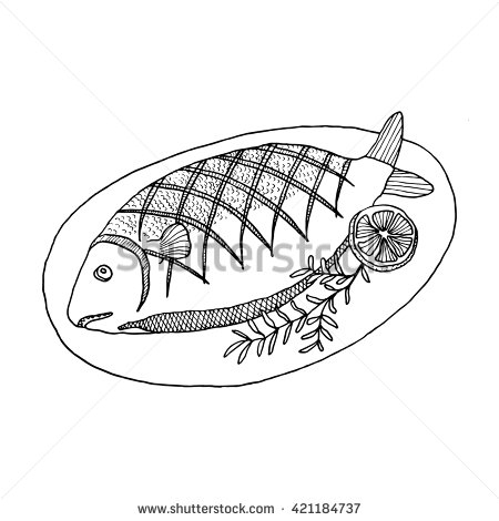 Fried Fish Cliparts - Fish And Chicken Clip Art - Free Transparent PNG  Clipart Images Download