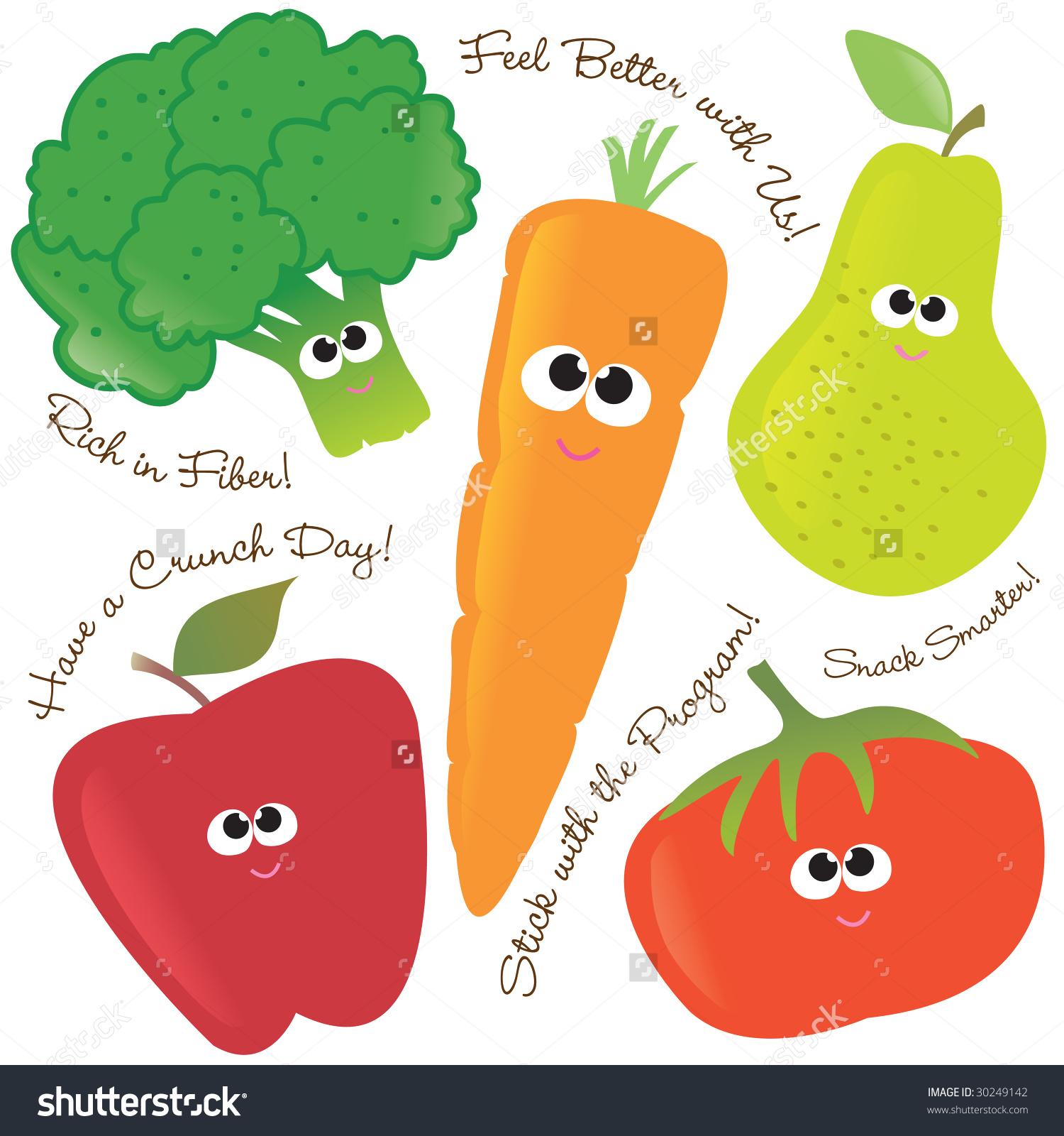 Fruits And Vegetables Clipart 7 Clipart Station