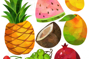 fruits clipart 4