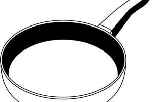 frying pan clipart 1