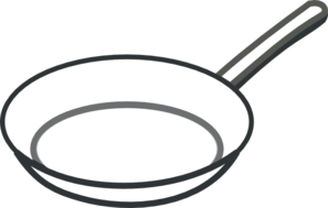 frying pan clipart 4