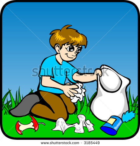 Garbage Collector Clipart 10
