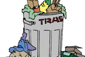 garbage pile clipart 6