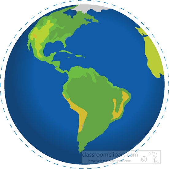 earth globe south america north america clipart clipart station rh clipartstation com free clipart of north america north america outline clip art