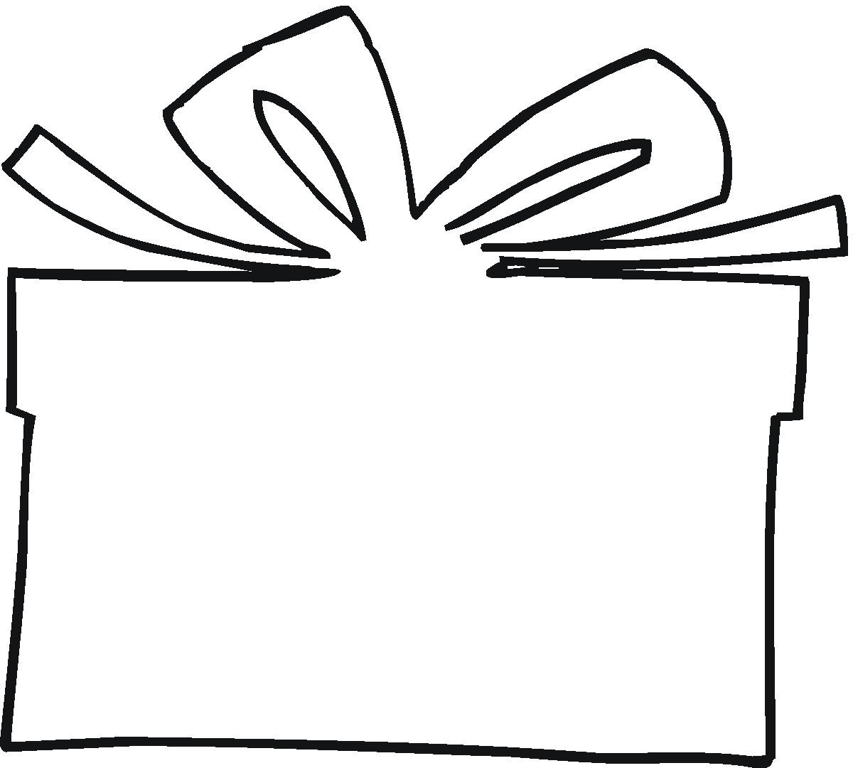 gift box clipart black and white 3  u00bb clipart station