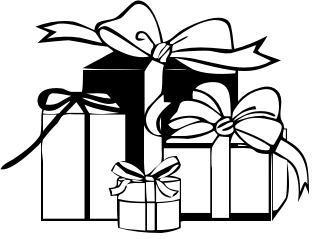 Gift box clipart black and white 3 clipart station gift box clipart black and white 3 negle Image collections