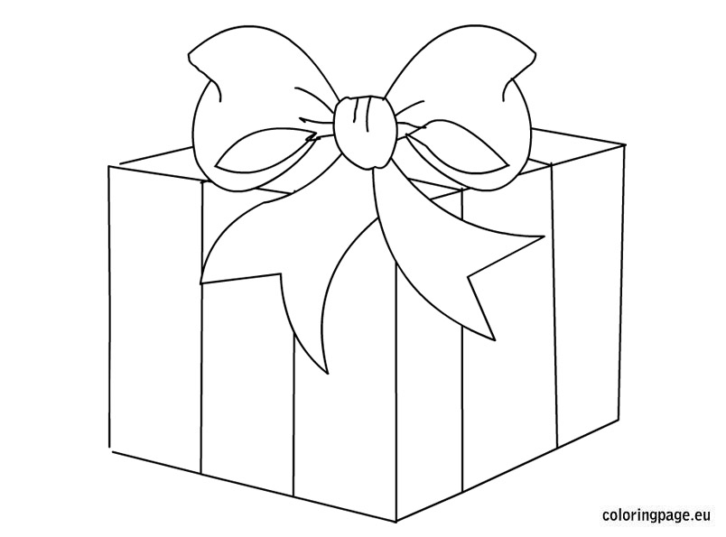 gift box clipart black and white 8 | Clipart Station