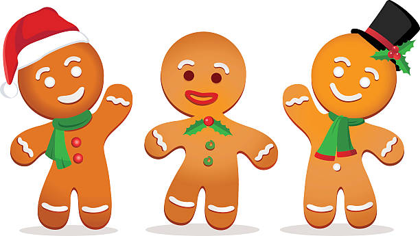 Gingerbread man clipart 1 » Clipart Station