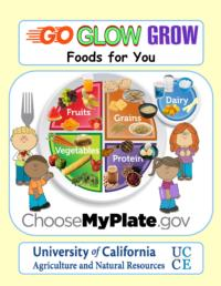 go grow and glow foods Based on the usda's myplate, go glow grow nutrition curriculum simplifies mypyramid for preschoolers it is divided into 3 sections labeled go, glow and grow each of the sections corresponds to the effect these food groups have on the body go foods contain the grains group foods that provide the body with energy it is the first group on myplate and the foundation of a healthy diet.