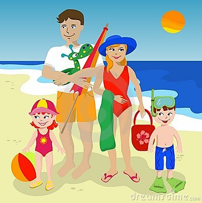 Go To The Beach Clipart 6