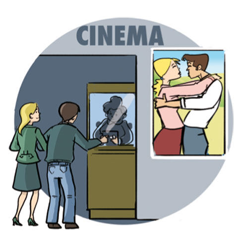 Go to the cinema clipart 7 clipart station - Clipart cinema gratuit ...