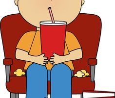 go to the movies clipart 1
