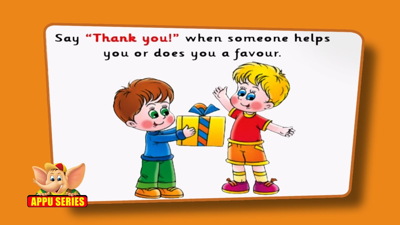 Good Manners And Right Conduct For Kids