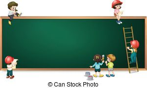 green board background clipart 1