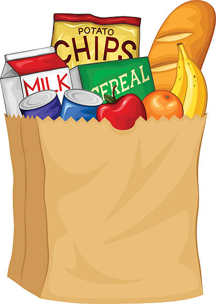 Image result for groceries clipart