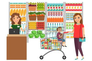grocery store clipart 2
