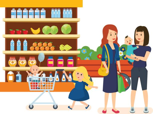 grocery store clipart 3 | Clipart Station