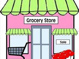 grocery store clipart 4