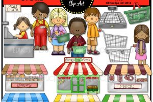 grocery store clipart 8