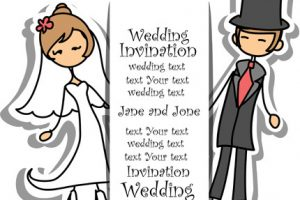 groom and bride clipart