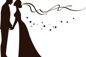 groom and bride clipart 6