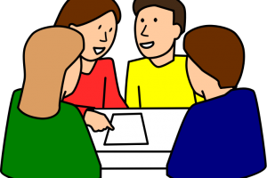 group study clipart
