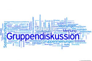 gruppendiskussion clipart 7