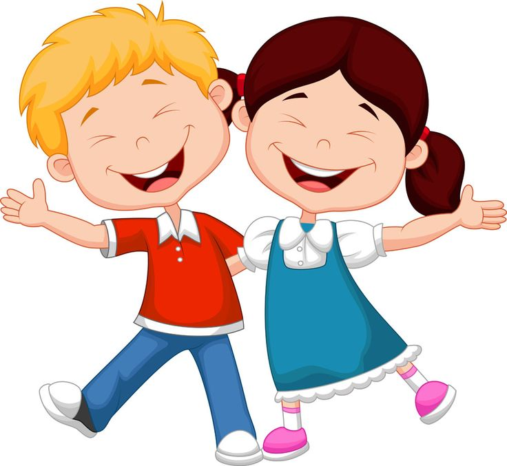 Happy kids clipart 5 » Clipart Station