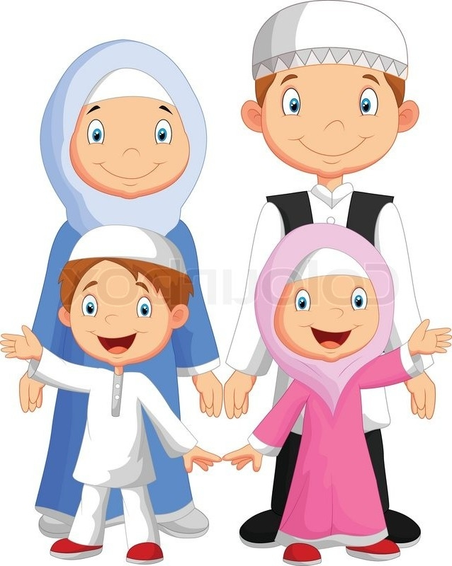 happy muslim family clipart 13 | clipart station