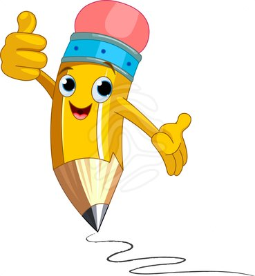 Happy pencil clipart 5 » Clipart Station