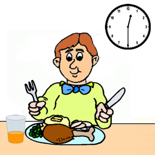 have lunch clipart 1  u00bb clipart station Sitting at Lunch Clip Art Students in Line Clip Art