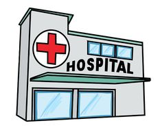 health center building clipart 3