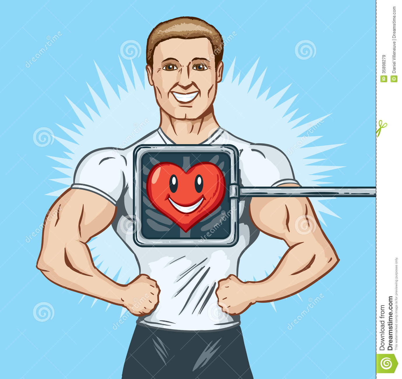 Healthy Man Clipart 3 Clipart Station