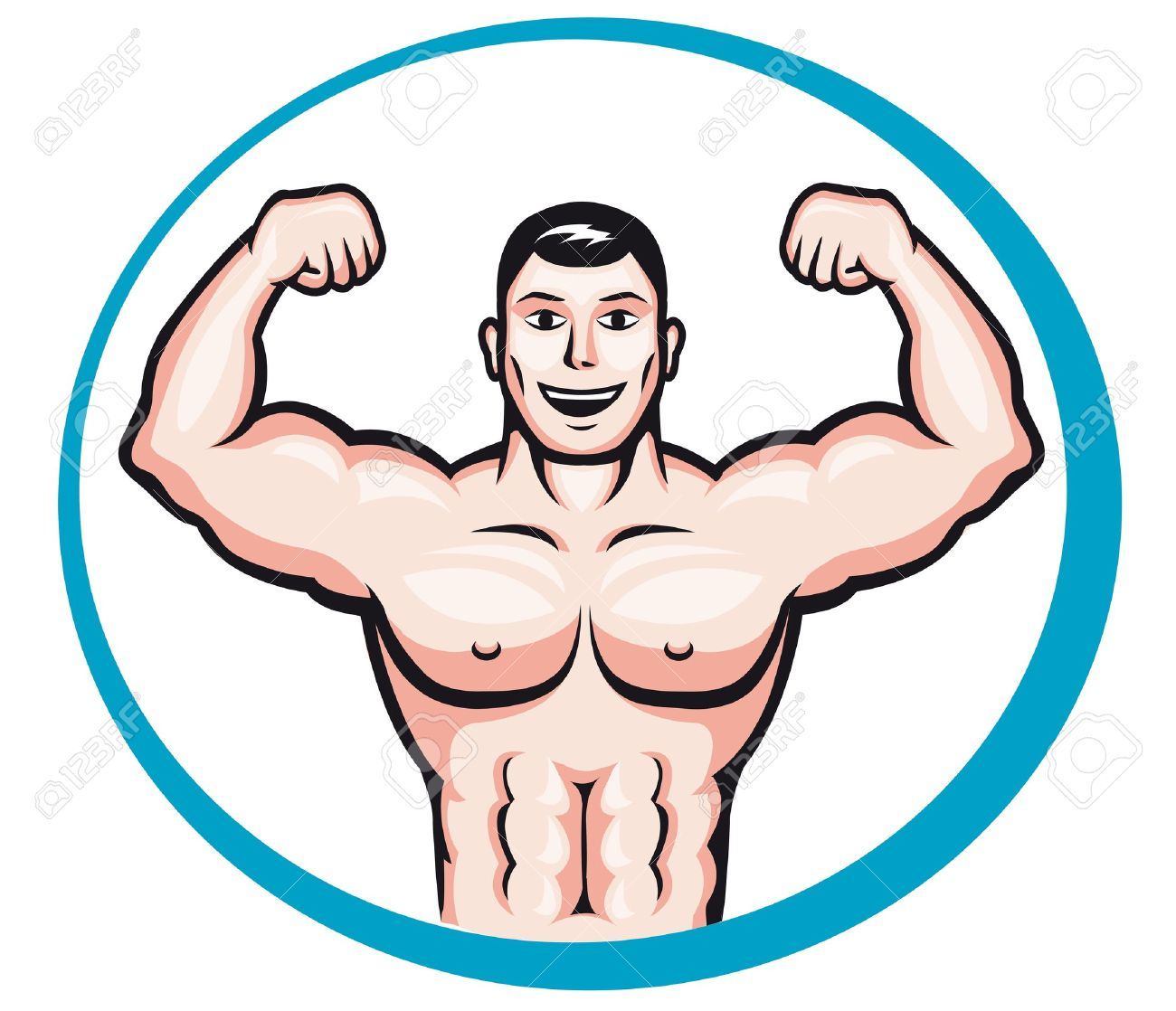 Healthy Man Clipart 5 Clipart Station