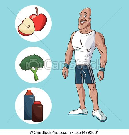 Healthy Man Clipart 8 Clipart Station
