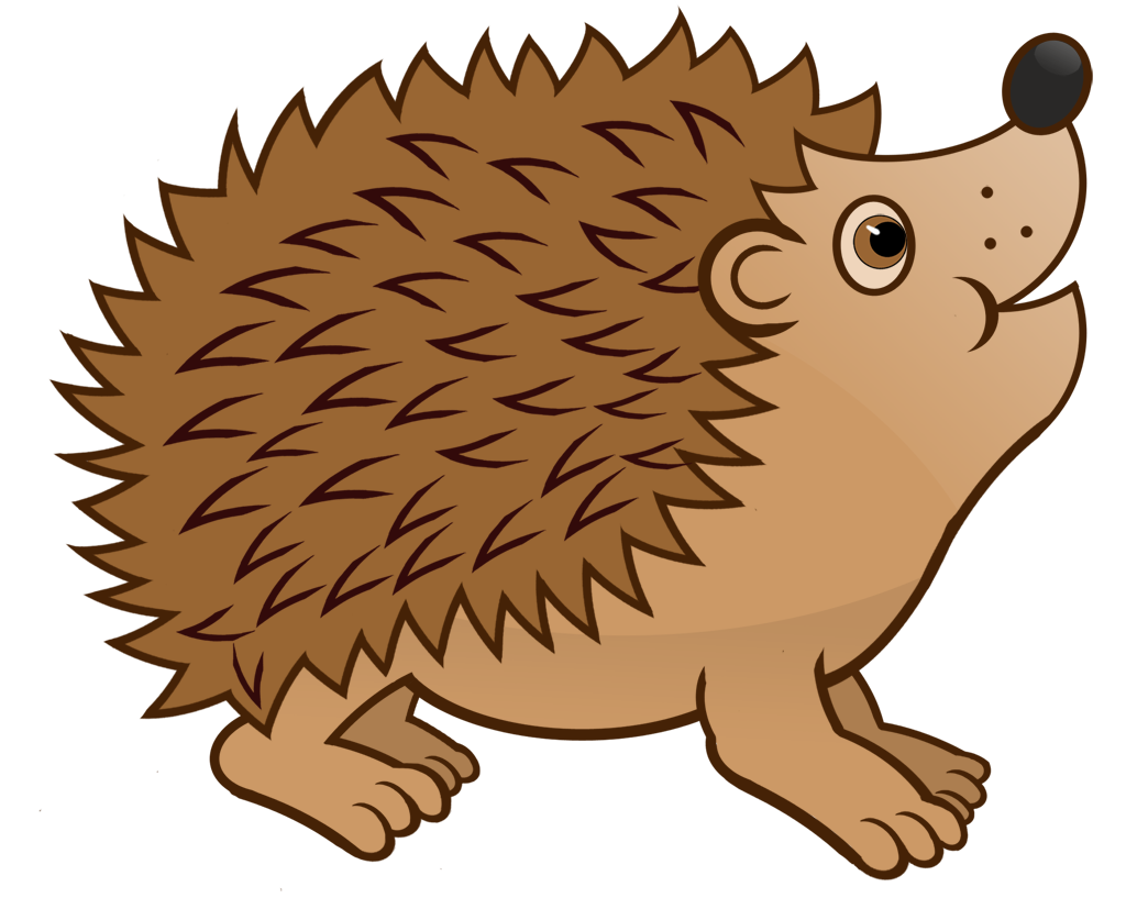herbst igel clipart 1 » clipart station