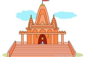 Hindu Temple Clipart Black And White 1 Clipart Station