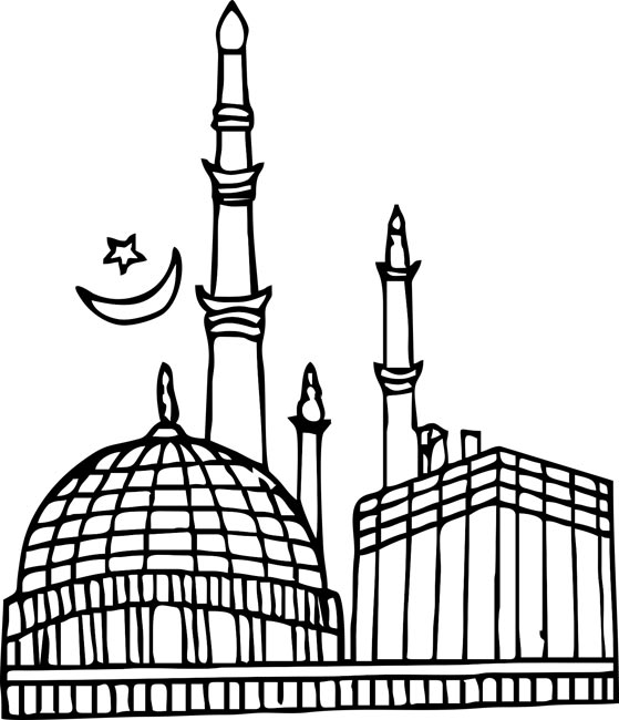 Hindu Temple Clipart Black And White 7 Clipart Station