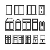 holzfenster clipart 8