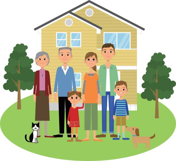 As family and household