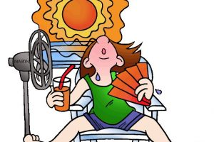 hot weather clipart 3