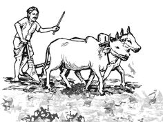 indian farmers clipart 7
