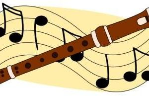indian flute clipart 3