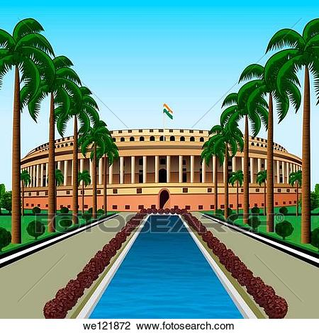 Indian parliament house clipart 5 » Clipart Station