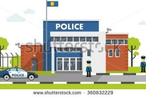 indian police station clipart 3