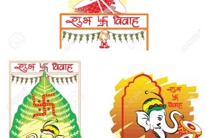 indian wedding clipart vector 7